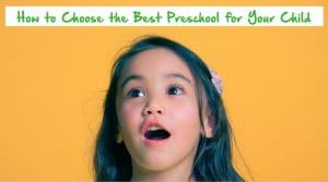 choose best preschool