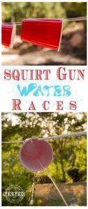 squirt gun race