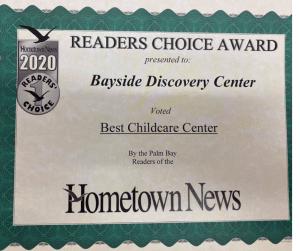 Hometown News Palm Bay Reader 2020 Award